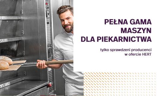 pełna gama maszyn dla piekarnictwa