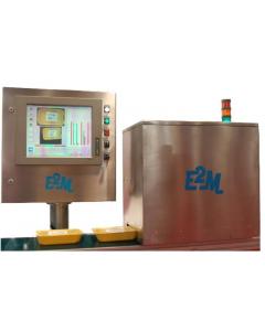 Wizyjny system sprawdzania tac plastikowych VISIOTRAY E2M