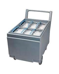 Wózek do bezpośredniego odbioru i transportu lodu SMART CART 240 Follet