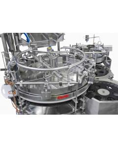 Dozownica półteleskopowa z wibrująca tuleja stożkową Zacmi